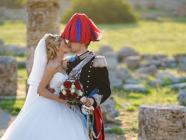 Il matrimonio di Saverio e Pamela a Capaccio Paestum, Salerno 51
