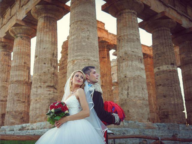 Il matrimonio di Saverio e Pamela a Capaccio Paestum, Salerno 55