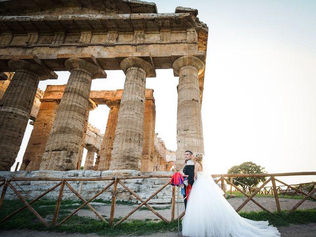 Il matrimonio di Saverio e Pamela a Capaccio Paestum, Salerno 56