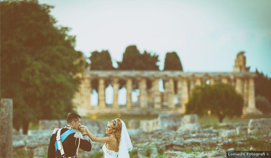 Il matrimonio di Saverio e Pamela a Capaccio Paestum, Salerno