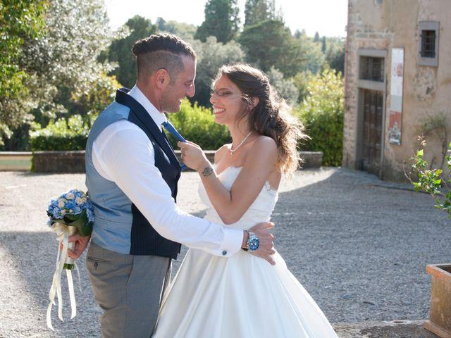 Il matrimonio di Antonio e Veronica a Lastra a Signa, Firenze 387