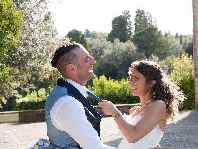 Il matrimonio di Antonio e Veronica a Lastra a Signa, Firenze 388