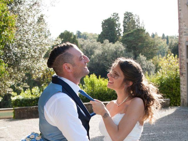 Il matrimonio di Antonio e Veronica a Lastra a Signa, Firenze 389