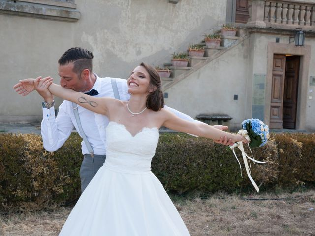Il matrimonio di Antonio e Veronica a Lastra a Signa, Firenze 464