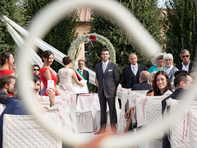 Il matrimonio di Luigi e Silvia a Montecarlo, Lucca 22