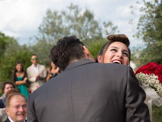 Il matrimonio di Luigi e Silvia a Montecarlo, Lucca 25