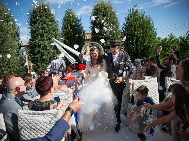 Il matrimonio di Luigi e Silvia a Montecarlo, Lucca 27