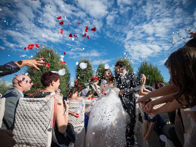 Il matrimonio di Luigi e Silvia a Montecarlo, Lucca 28
