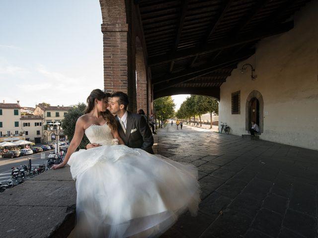 Il matrimonio di Luigi e Silvia a Montecarlo, Lucca 33