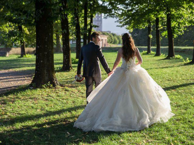 Il matrimonio di Luigi e Silvia a Montecarlo, Lucca 34
