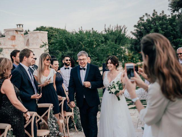 Il matrimonio di Sylvain e Veronique a Ostuni, Brindisi 30