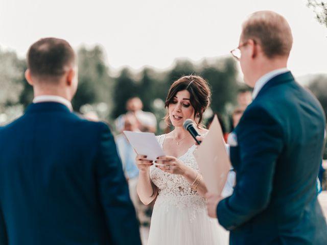 Il matrimonio di Sylvain e Veronique a Ostuni, Brindisi 35