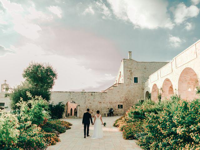 Il matrimonio di Sylvain e Veronique a Ostuni, Brindisi 44