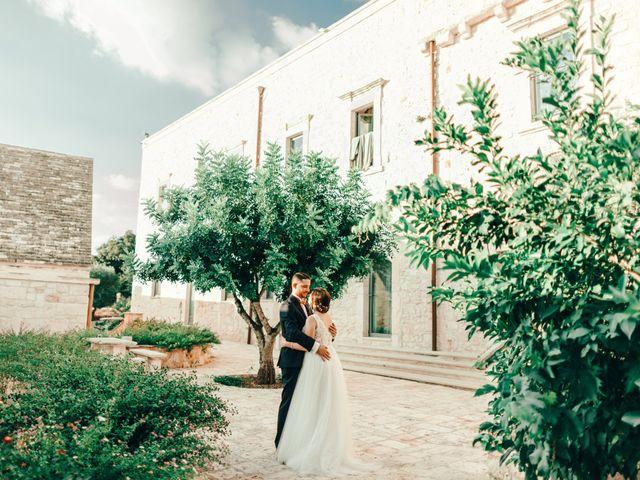 Il matrimonio di Sylvain e Veronique a Ostuni, Brindisi 45
