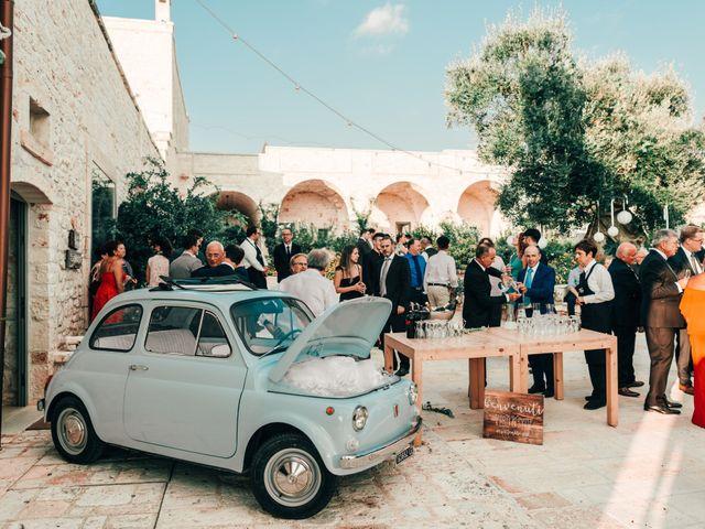 Il matrimonio di Sylvain e Veronique a Ostuni, Brindisi 52