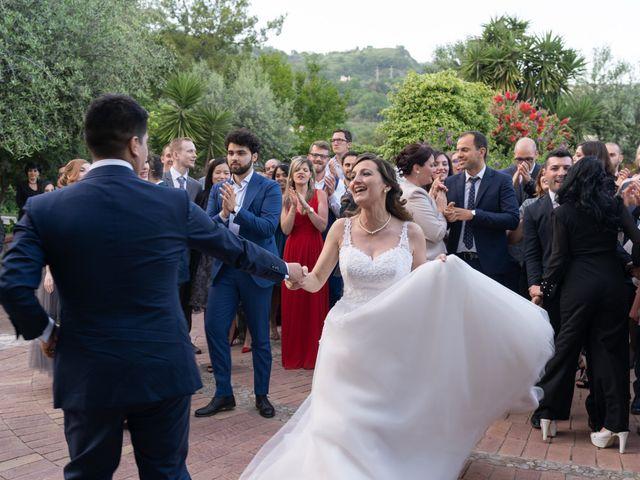 Il matrimonio di Rosario e Giusy a Salerno, Salerno 83