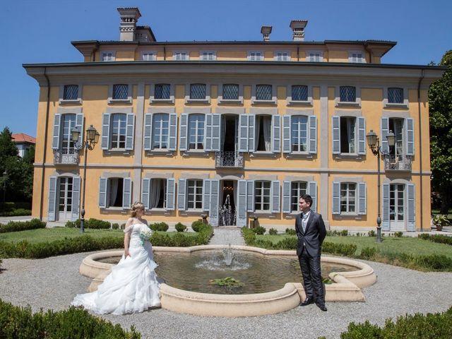 Il matrimonio di Davide e Elena a Monza, Monza e Brianza 17