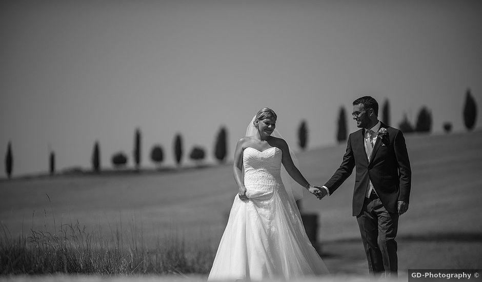 Il matrimonio di Stefano e Stefania a Siena, Siena