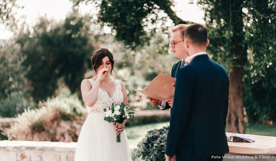 Il matrimonio di Sylvain e Veronique a Ostuni, Brindisi