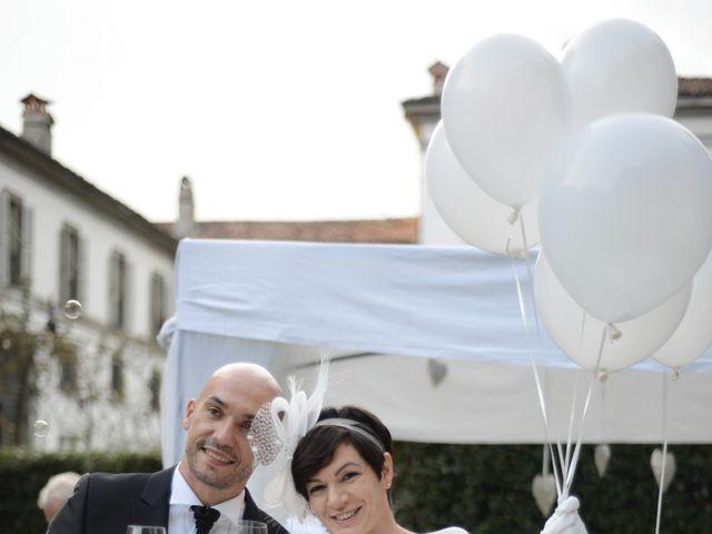 Il matrimonio di Silvia e Simone a Stezzano, Bergamo 36