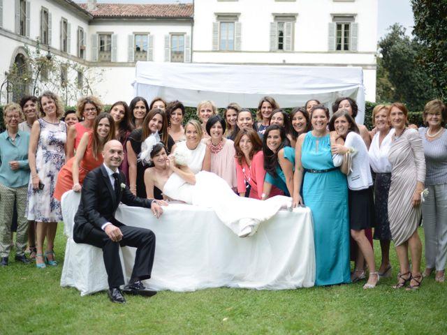 Il matrimonio di Silvia e Simone a Stezzano, Bergamo 38