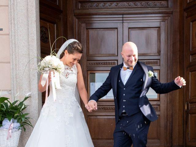 Il matrimonio di Alessio e Federica a Cuggiono, Milano 20