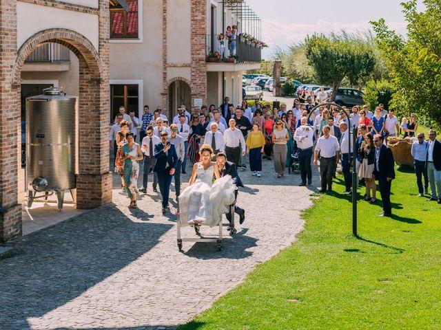 Il matrimonio di Stefano e Silvia a Monforte d'Alba, Cuneo 78