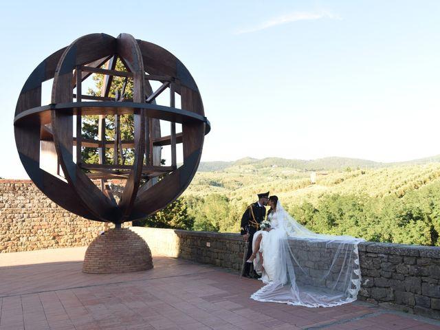 Il matrimonio di Domenico  e Benedetta  a Montemurlo, Prato 1