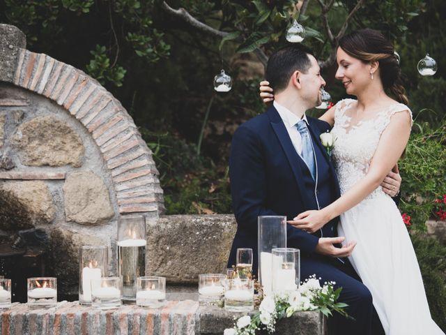 Il matrimonio di Davide e Viviana a Anguillara Sabazia, Roma 1
