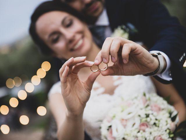 Il matrimonio di Davide e Viviana a Anguillara Sabazia, Roma 13