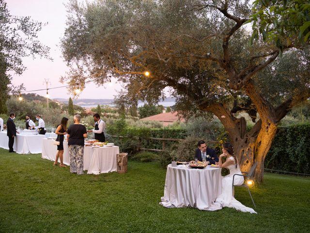 Il matrimonio di Davide e Viviana a Anguillara Sabazia, Roma 19
