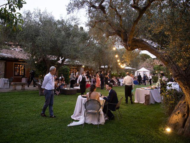 Il matrimonio di Davide e Viviana a Anguillara Sabazia, Roma 20