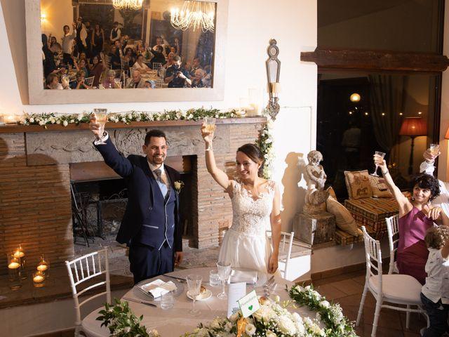 Il matrimonio di Davide e Viviana a Anguillara Sabazia, Roma 26