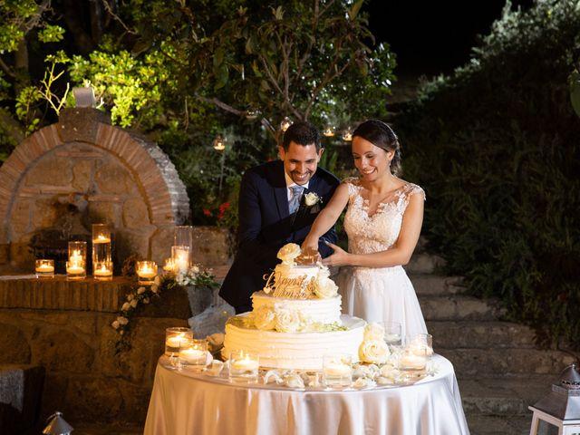 Il matrimonio di Davide e Viviana a Anguillara Sabazia, Roma 28