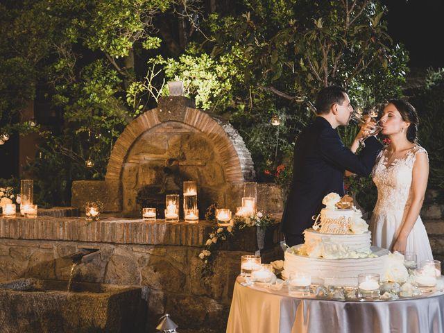 Il matrimonio di Davide e Viviana a Anguillara Sabazia, Roma 30