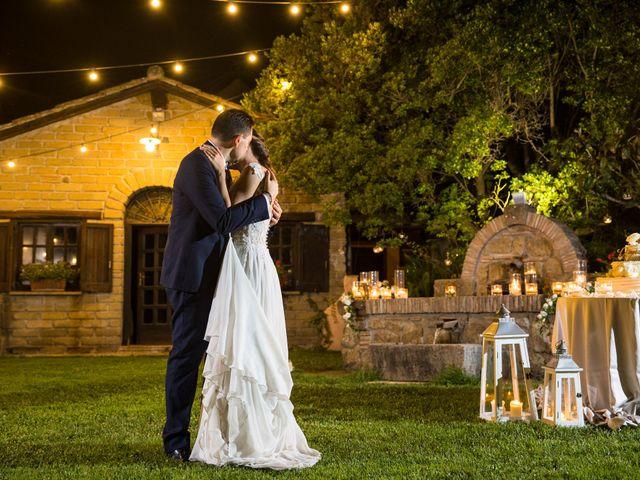 Il matrimonio di Davide e Viviana a Anguillara Sabazia, Roma 34