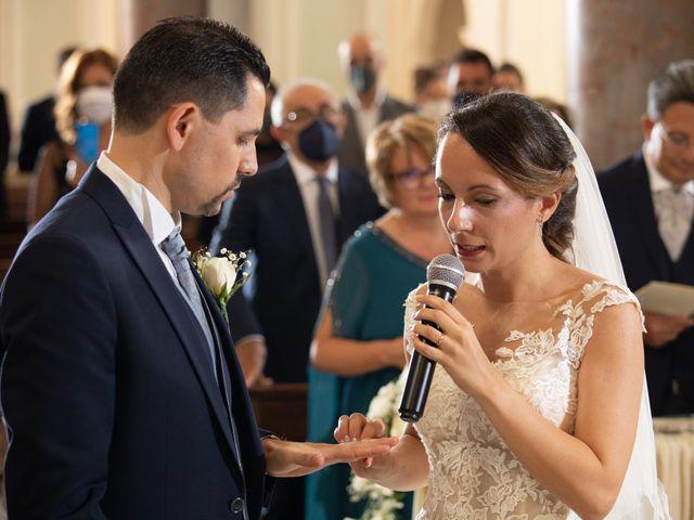 Il matrimonio di Davide e Viviana a Anguillara Sabazia, Roma 37