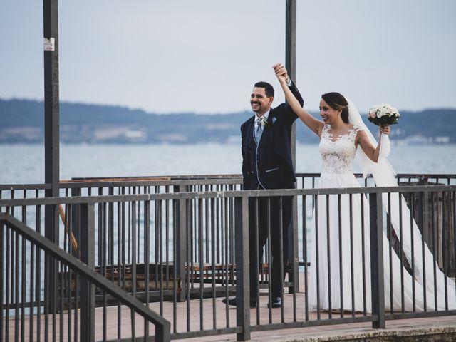 Il matrimonio di Davide e Viviana a Anguillara Sabazia, Roma 40
