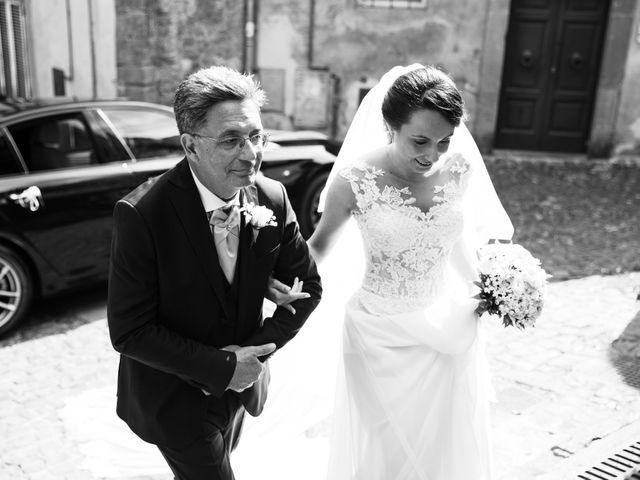 Il matrimonio di Davide e Viviana a Anguillara Sabazia, Roma 47