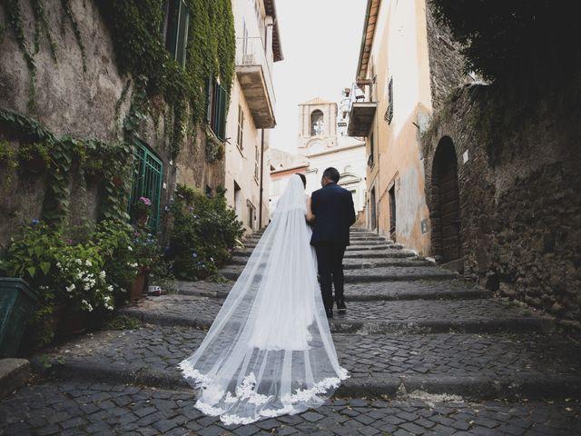 Il matrimonio di Davide e Viviana a Anguillara Sabazia, Roma 48
