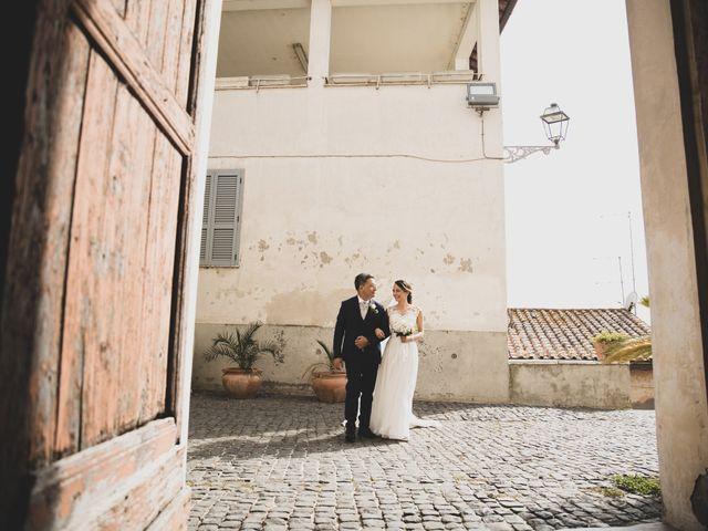 Il matrimonio di Davide e Viviana a Anguillara Sabazia, Roma 49