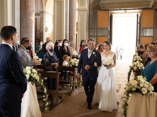 Il matrimonio di Davide e Viviana a Anguillara Sabazia, Roma 50