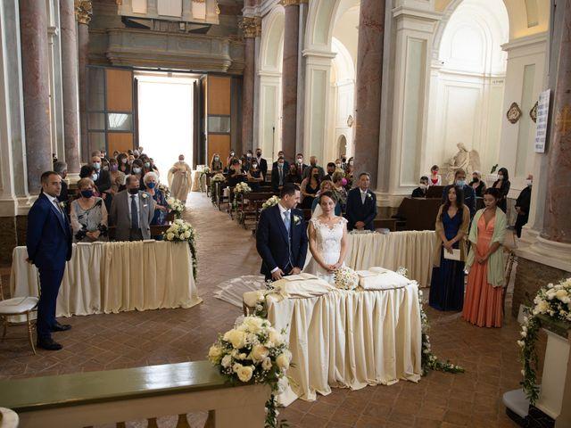 Il matrimonio di Davide e Viviana a Anguillara Sabazia, Roma 51