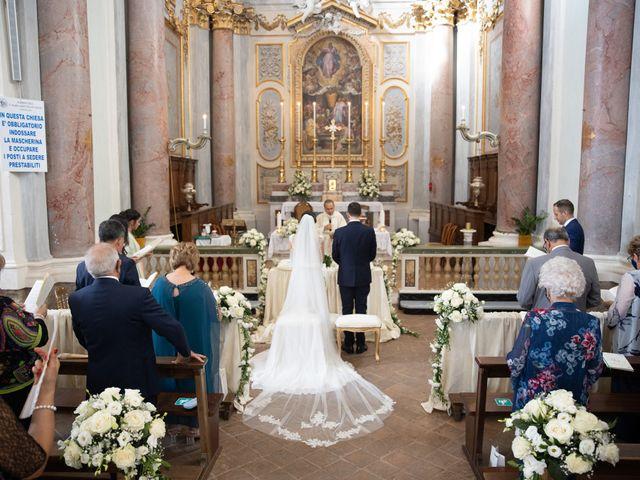 Il matrimonio di Davide e Viviana a Anguillara Sabazia, Roma 54