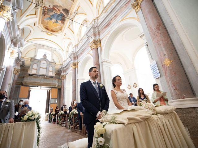 Il matrimonio di Davide e Viviana a Anguillara Sabazia, Roma 55