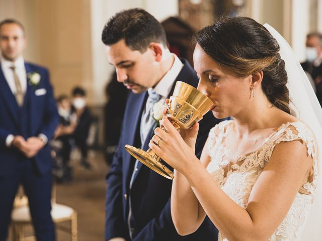 Il matrimonio di Davide e Viviana a Anguillara Sabazia, Roma 56