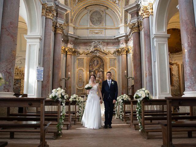 Il matrimonio di Davide e Viviana a Anguillara Sabazia, Roma 57
