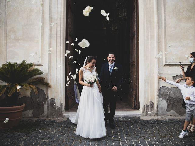 Il matrimonio di Davide e Viviana a Anguillara Sabazia, Roma 59