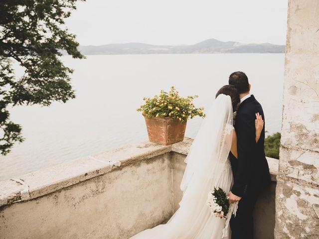 Il matrimonio di Davide e Viviana a Anguillara Sabazia, Roma 61