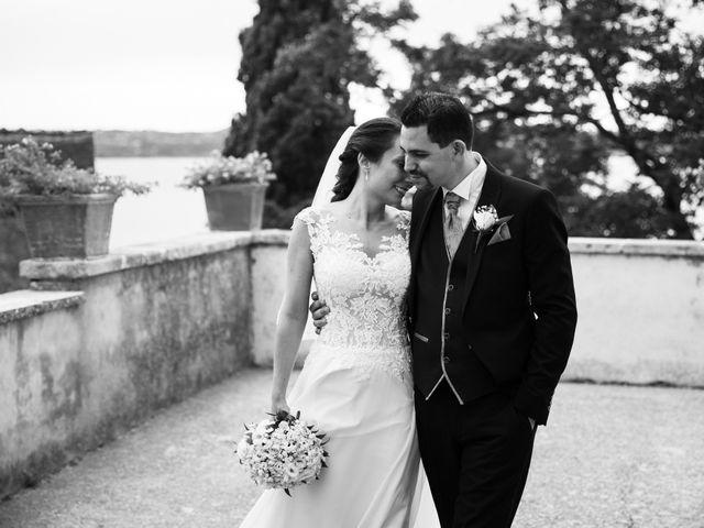 Il matrimonio di Davide e Viviana a Anguillara Sabazia, Roma 63
